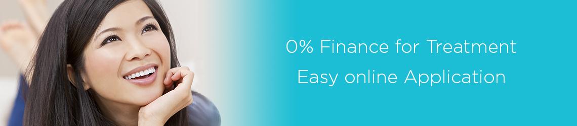 0% Finance Banner